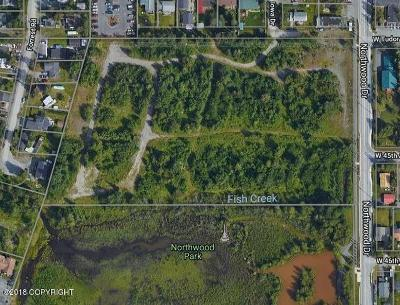 Anchorage, Chugiak, Eagle River Residential Lots & Land For Sale: 4500 Northwood Drive