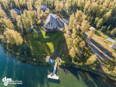 1d - Matanuska Susitna Borough Single Family Home For Sale: 23449 W Carpenter Lake Road