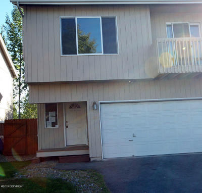 Anchorage Condo/Townhouse For Sale: 222 E 45 Avenue #42