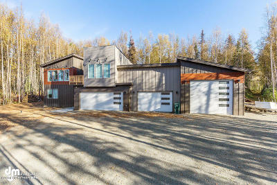 Wasilla Single Family Home For Sale: 3241 N Alma Drive