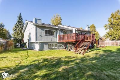 Anchorage Single Family Home For Sale: 8440 Ragged Top Circle