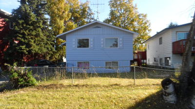 Anchorage Rental For Rent: 4107 Garfield Street #A