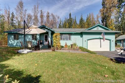 Wasilla Single Family Home For Sale: 3000 N Bald Eagle Drive