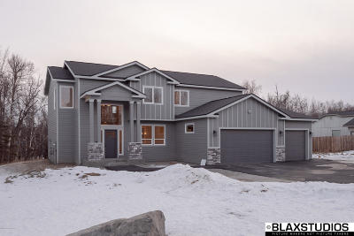 Wasilla Single Family Home For Sale: 3000 E Tamarak Avenue