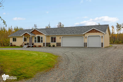 Wasilla AK Single Family Home For Sale: $320,000