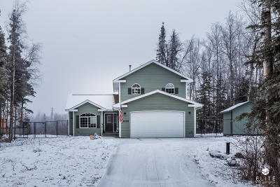 Wasilla Single Family Home For Sale: 8158 W Tia Terrace Drive