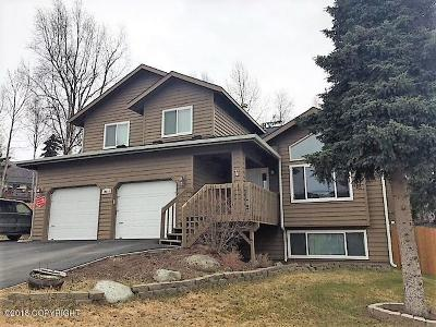 Eagle River Single Family Home For Sale: 19211 S Mitkof Loop