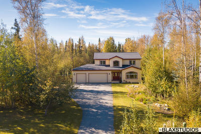 Wasilla Single Family Home For Sale: 2985 W Stonebridge Drive