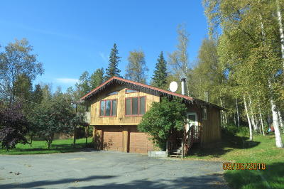 Wasilla Single Family Home For Sale: 1600 N Trail Circle