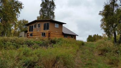 Trapper Creek Single Family Home For Sale: NHN Off Bradley Road