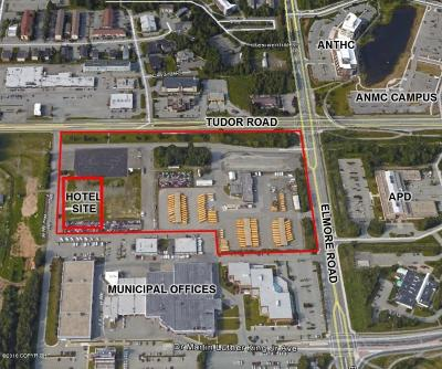 Anchorage Residential Lots & Land For Sale: 3700 Tudor Road