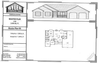 Wasilla Single Family Home For Sale: 7520 S Settlers Bay Drive