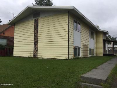 Anchorage Multi Family Home For Sale: 309 N Bragaw Street