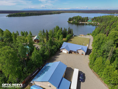 1d - Matanuska Susitna Borough Single Family Home For Sale: 24600 W Hattie Lane