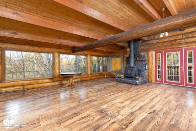Chugiak, Eagle River Single Family Home For Sale: 17505 S Juanita Loop