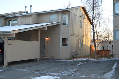 Anchorage Condo/Townhouse For Sale: 441 Dailey Avenue #H-5