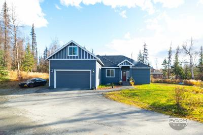 Wasilla Single Family Home For Sale: 7782 W Arlie Road