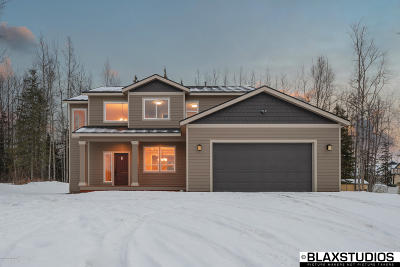 Wasilla Single Family Home For Sale: 7845 S Settlers Bay Drive