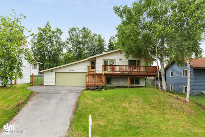 Anchorage AK Single Family Home For Sale: $275,000