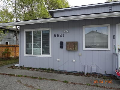 Anchorage Rental For Rent: 8821 Cordell Circle #1