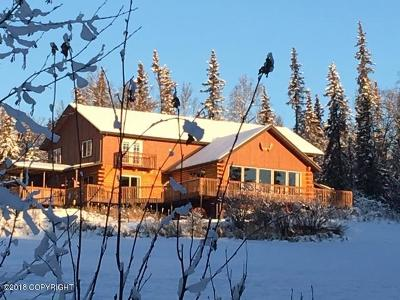 Wasilla Single Family Home For Sale: 4033 W Sunrise Road