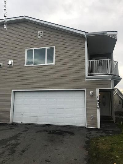 Anchorage Condo/Townhouse For Sale: 5926 Kody Drive #5
