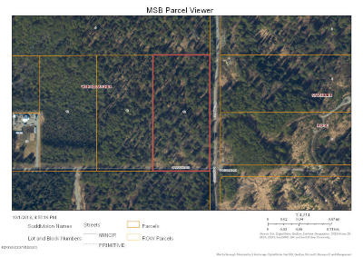 Wasilla AK Residential Lots & Land For Sale: $21,900