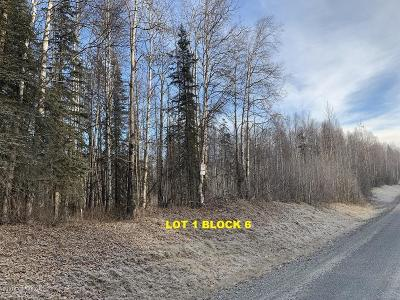 Big Lake, Palmer, Sutton, Wasilla, Willow Residential Lots & Land For Sale: L1 B6 Caswell Lakes Road