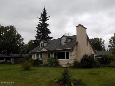 Anchorage Single Family Home For Sale: 4164 James Drive