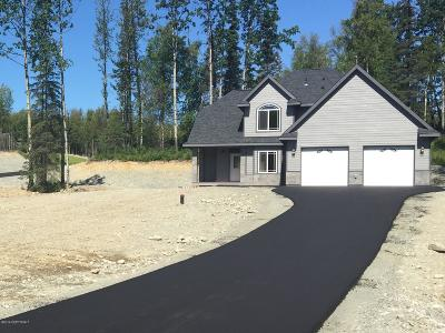 Wasilla Single Family Home For Sale: 3761 W Birch Leaf Way
