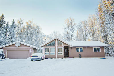 Wasilla Single Family Home For Sale: 2960 N Brennas Way