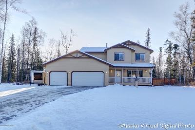 Wasilla Single Family Home For Sale: 7834 E Aspen Ridge Road
