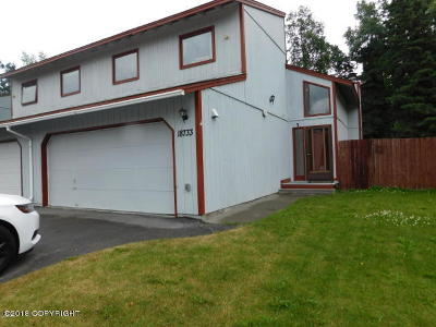 Chugiak, Eagle River Single Family Home For Sale: 18733 N Lowrie Loop