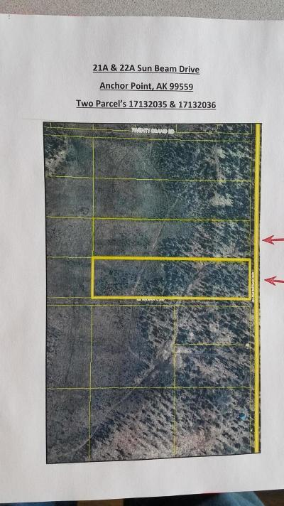 Anchor Point Residential Lots & Land For Sale: Tr 21A Sun Beam Drive