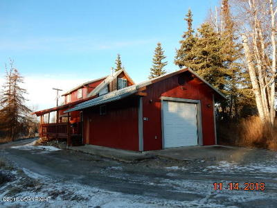 Wasilla Single Family Home For Sale: 7000 W Gladstone Lane