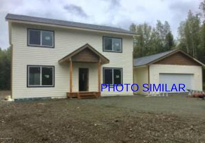 Big Lake, Palmer, Sutton, Wasilla, Willow Single Family Home For Sale: 2871 N Sally Mae Circle