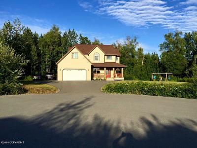 Wasilla Single Family Home For Sale: 151 N Ashlee Circle