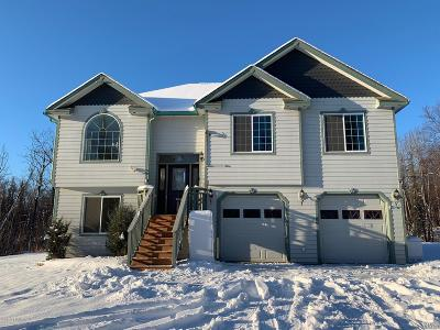 Wasilla Single Family Home For Sale: 3471 W Grand Bay Drive