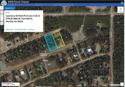 Wasilla Residential Lots & Land For Sale: 9748 Fairchild Street