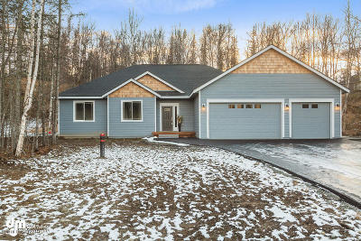 Big Lake, Palmer, Sutton, Wasilla, Willow Single Family Home For Sale: 3990 W Isla Drive