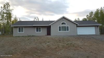 Wasilla Single Family Home For Sale: 7465 W Vecera Drive