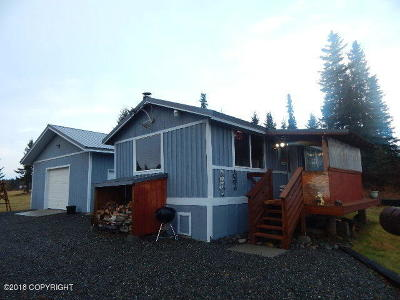 Homer, Anchor Point, Ninilchik, Seldovia, Halibut Cove Single Family Home For Sale: 27155 Cloyds Road