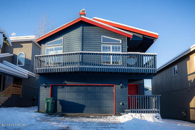 Chugiak, Eagle River Single Family Home For Sale: 17461 Beaujolais Circle