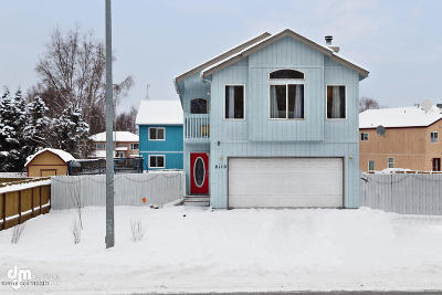 Anchorage Single Family Home For Sale: 8110 Northwood Street