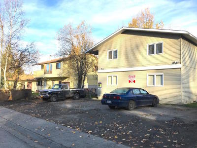 Anchorage Multi Family Home For Sale: 7501 Peck Street