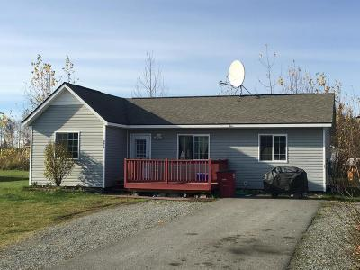 Wasilla Single Family Home For Sale: 3612 S Serenity Circle