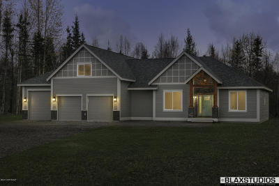 Wasilla Single Family Home For Sale: L5 E Dreamland Circle