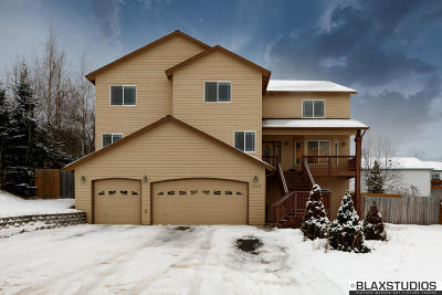 Anchorage AK Single Family Home For Sale: $627,000