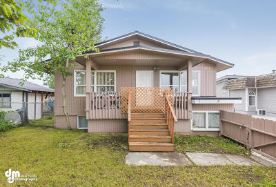 Anchorage Multi Family Home For Sale: 611 Bragaw Street