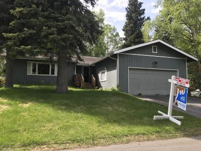 Anchorage Single Family Home For Sale: 7640 Jason Place
